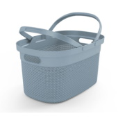 KIS korpa za veš Filo Shopping Basket 21l Smokey grey KFSBSG
