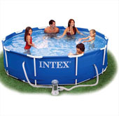 Intex metalni bazen 305 x 76 cm